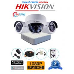 Bộ 4 camera Dahua 1MP DS-2CE16C0T-IRP