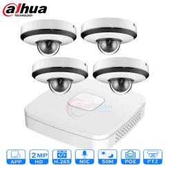 Bộ 04 camera IP Dahua 2MP gồm đầu ghi hình